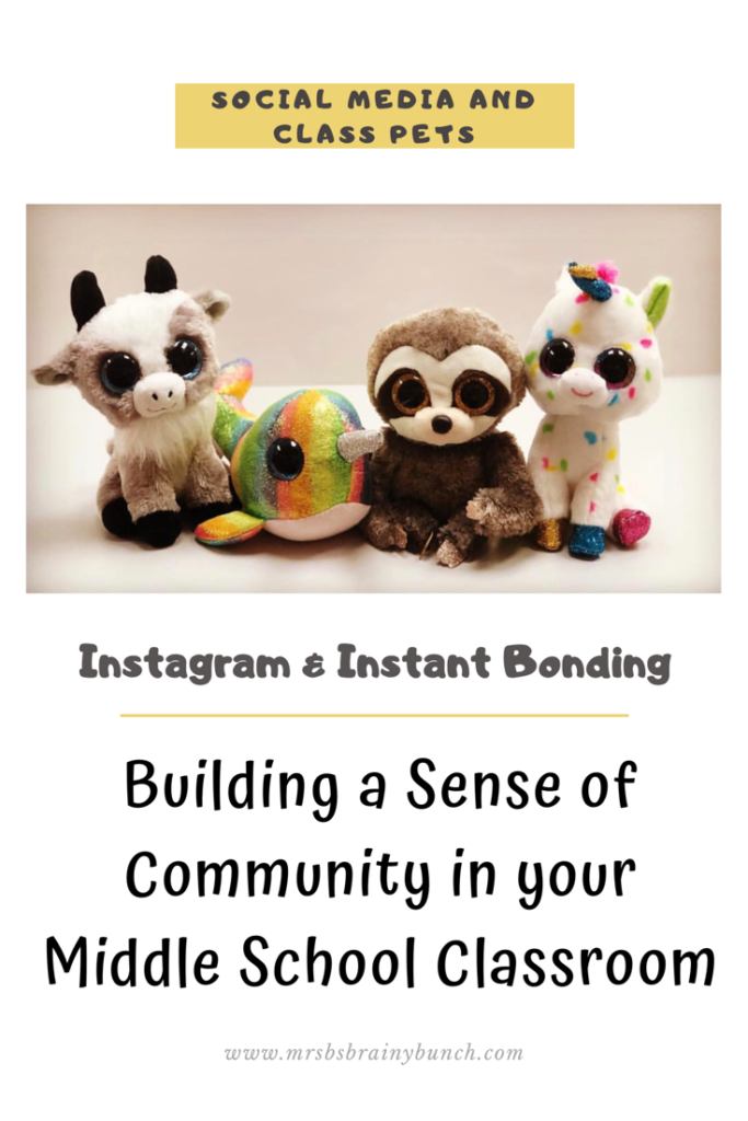 My Blog Post titles Building a Sense of Community in your Middle School Classroom