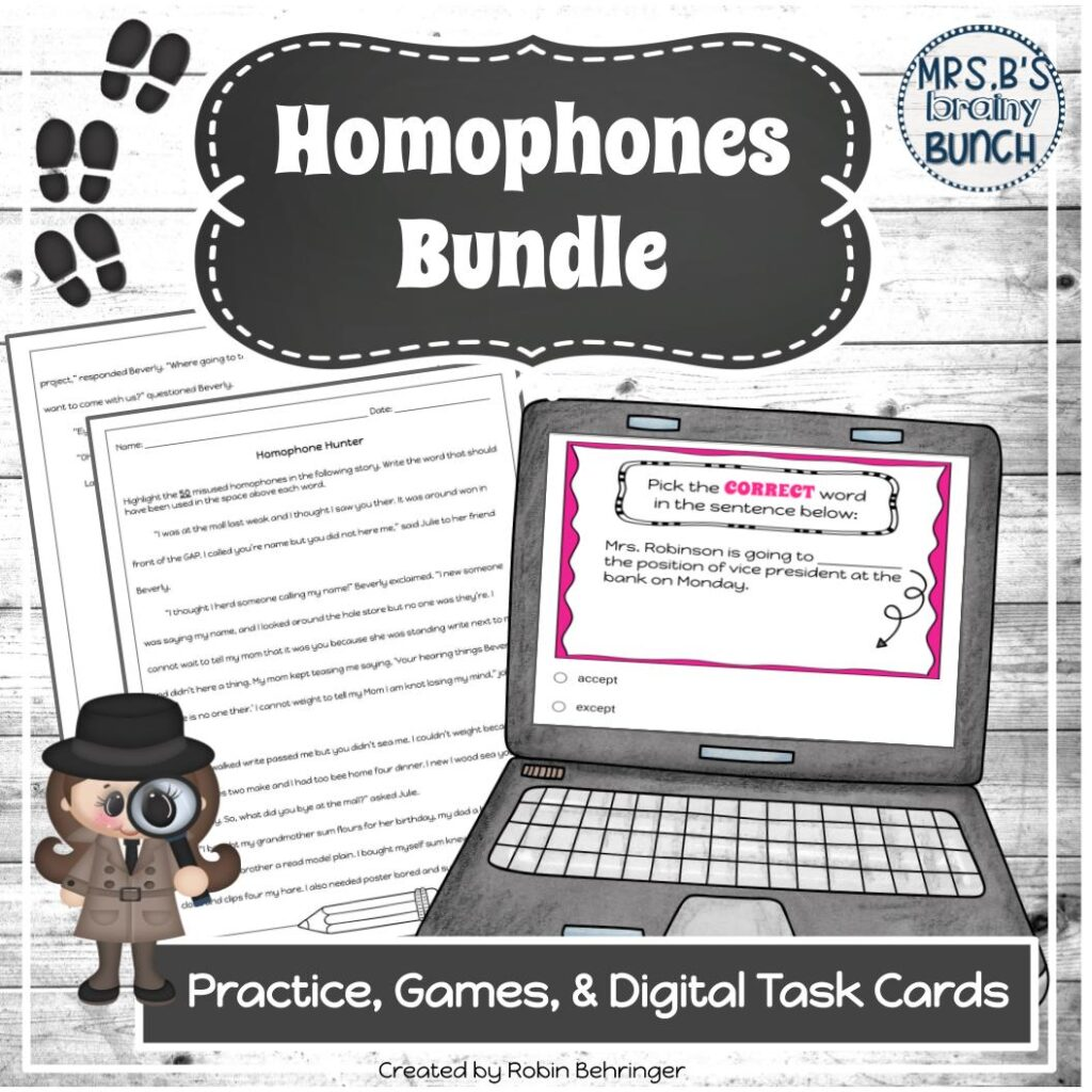 picture of cover of Homophones Bundle resource