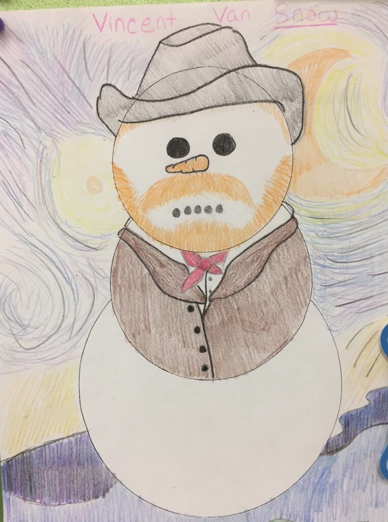 Pun: Vincent Van Snow