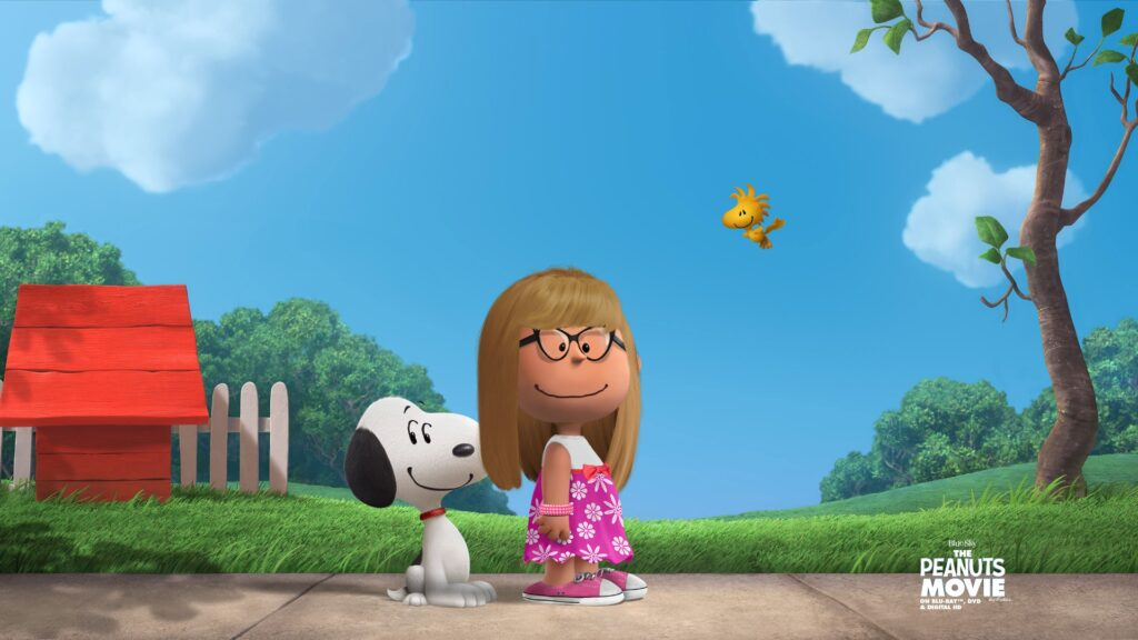 Me as a Peanuts character