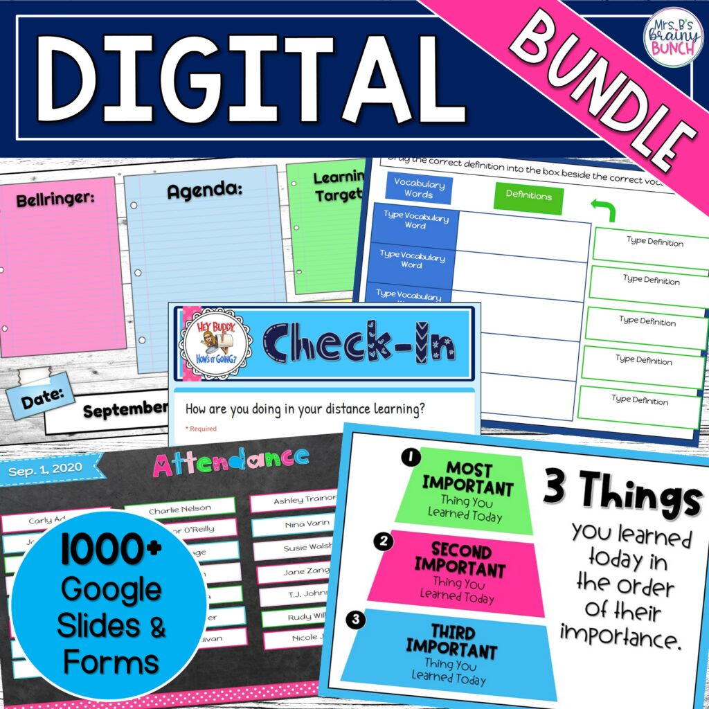 picture of my BIG digital bundle of resources