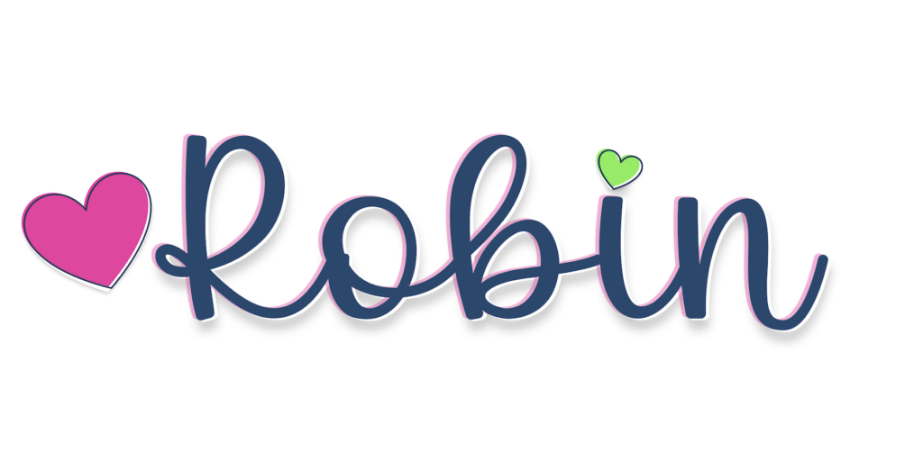 my signature Robin